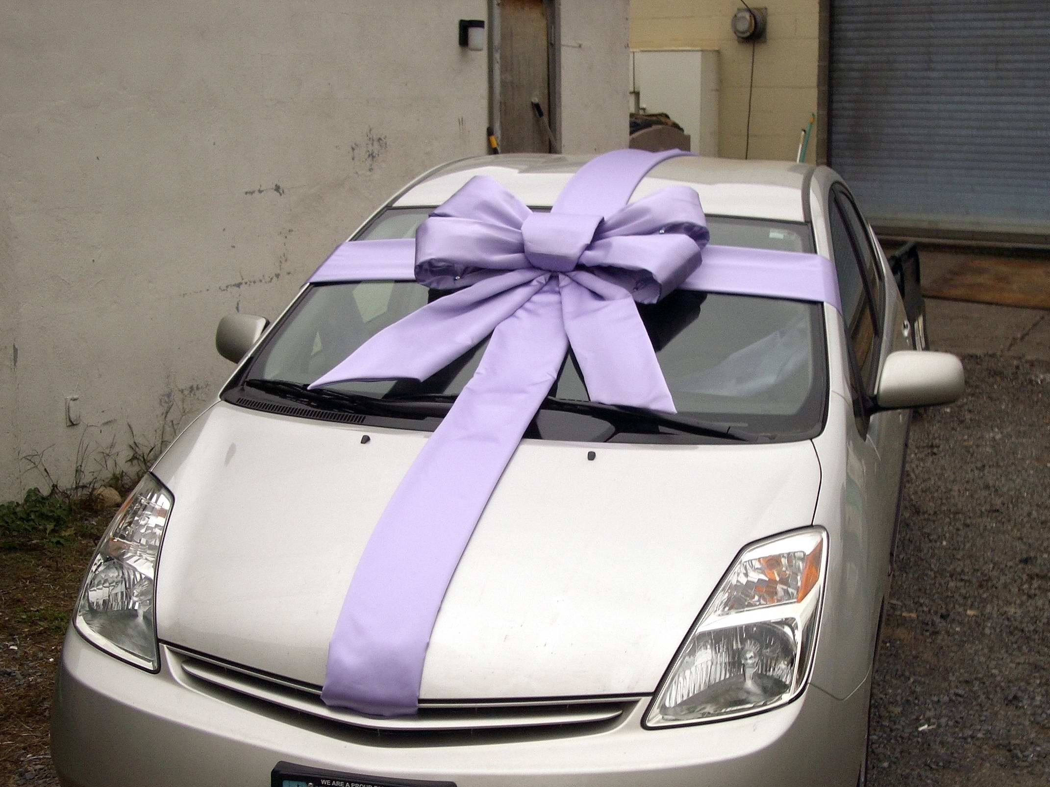 How to make a gift for the car