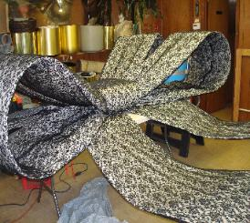 Giant Lace Bow #1004