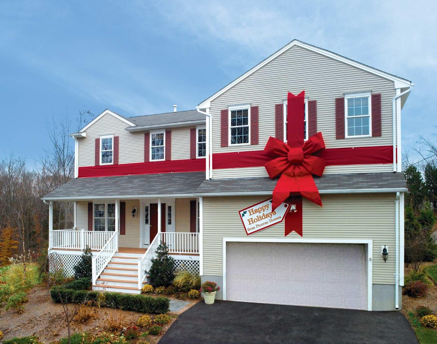 Gift Wrapped House
