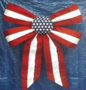 GIANT BOW #404 FLAG BOW