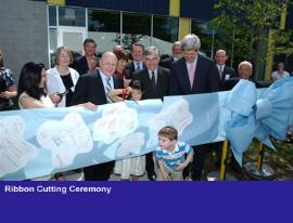 Ribbon Cutting Dukakis Kerry Giant Bow #404